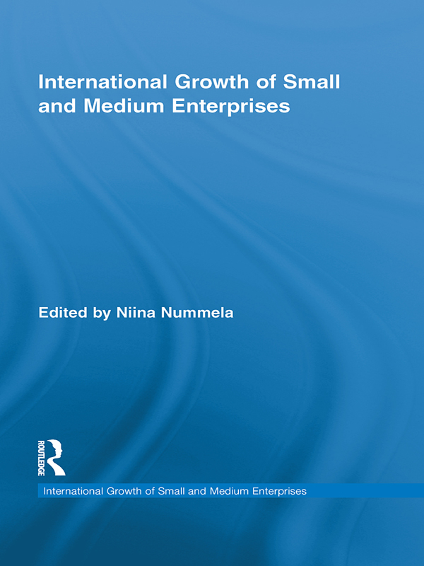 International Growth of Small and Medium Enterprises