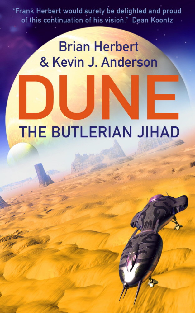 The Butlerian Jihad Legends of Dune 1