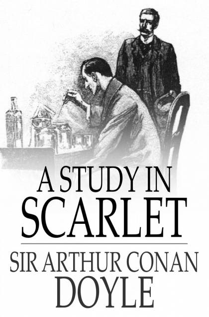 Cover Image: A Study in Scarlet