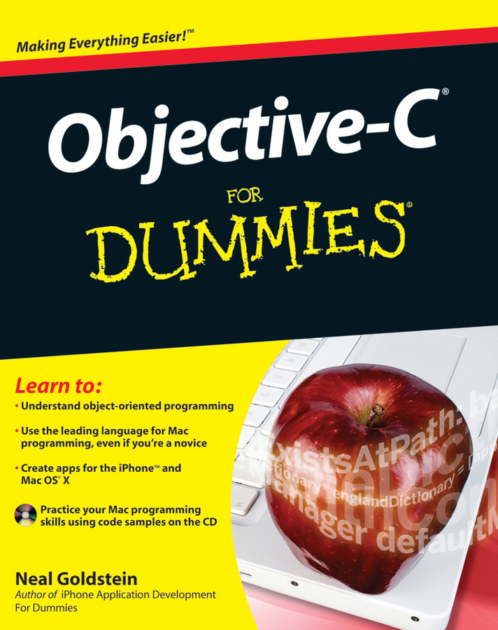 Objective-C For Dummies By: Neal Goldstein