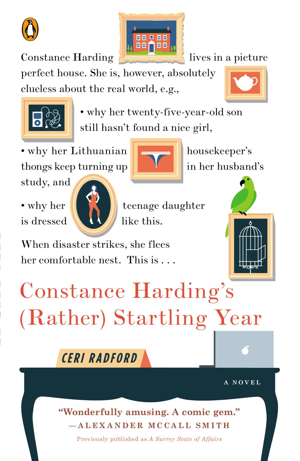 Constance Harding's (Rather) Startling Year By: Ceri Radford