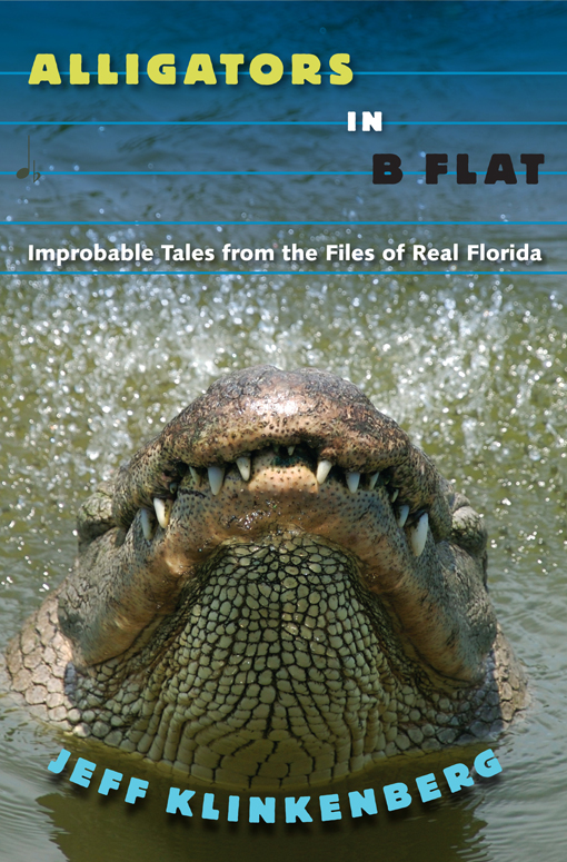 Book Cover: Alligators in B-Flat