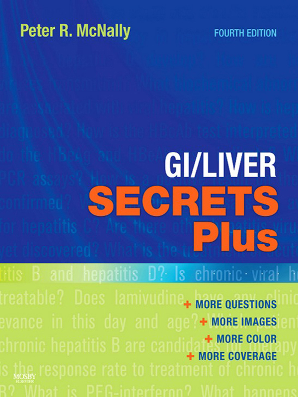 GI/Liver Secrets Plus By: Peter R McNally