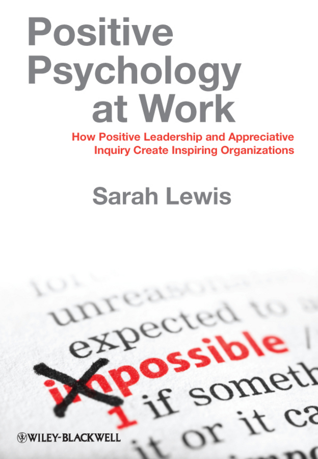 Positive Psychology at Work