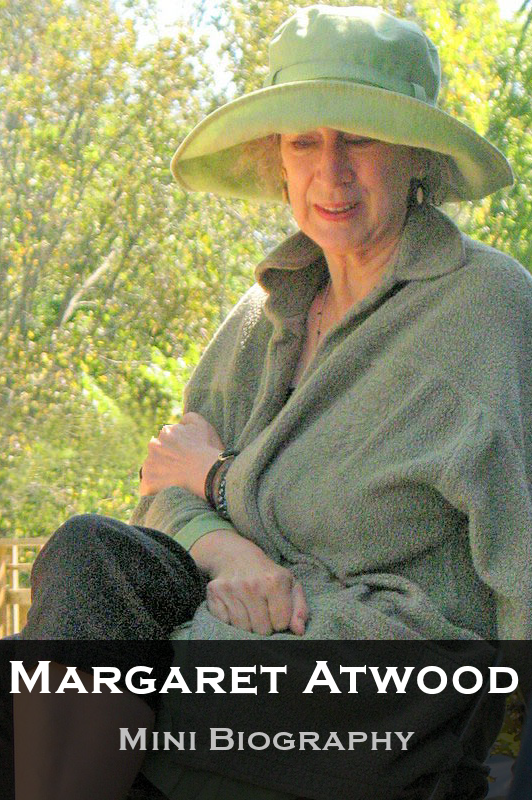Margaret Atwood Mini Biography