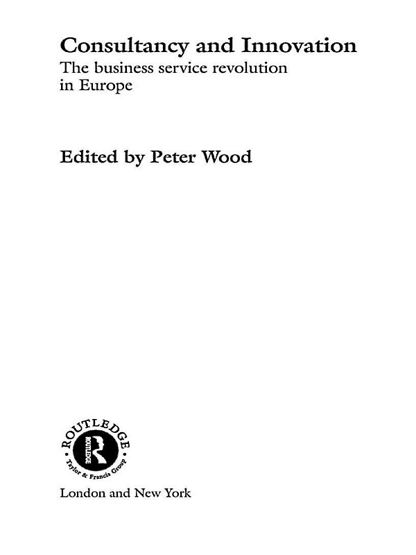 Peter Wood - Consultancy and Innovation