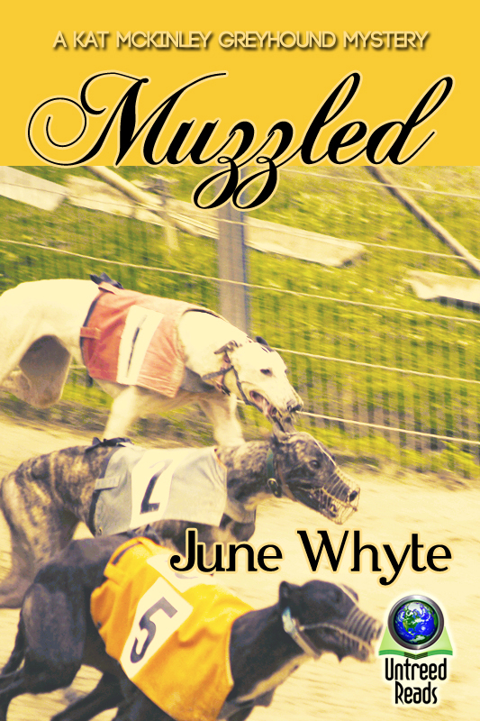 Muzzled (A Kat McKinley Greyhound Mystery #2)