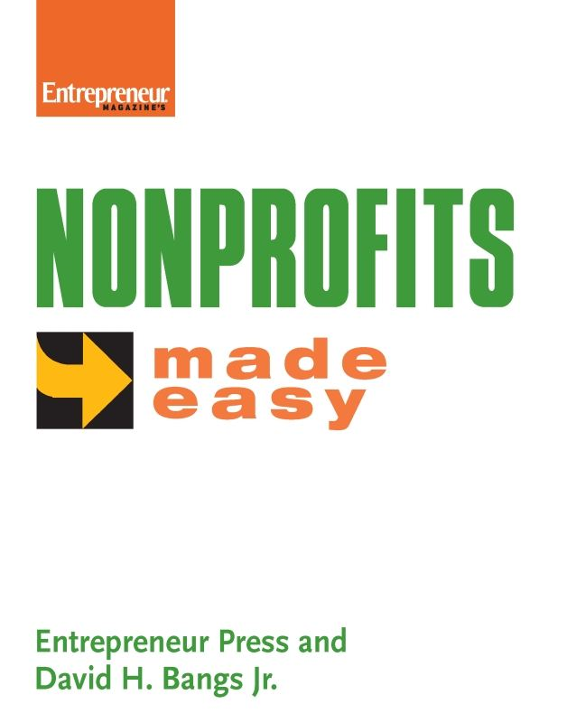 Nonprofits Made Easy By: Entrepreneur Press