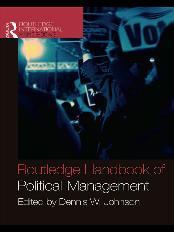 The Routledge Handbook of Political Management