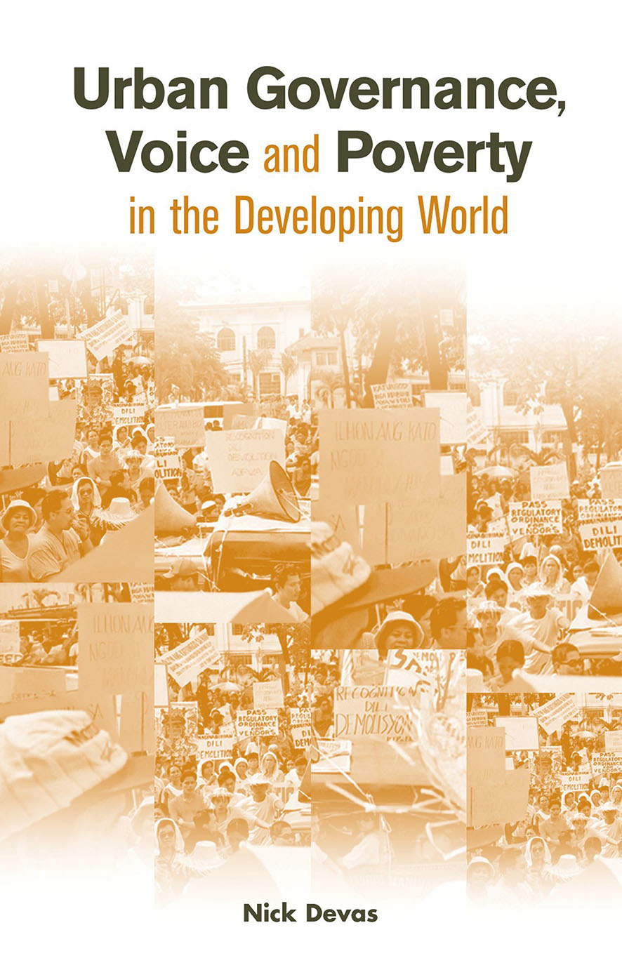 Urban Governance Voice and Poverty in the Developing World