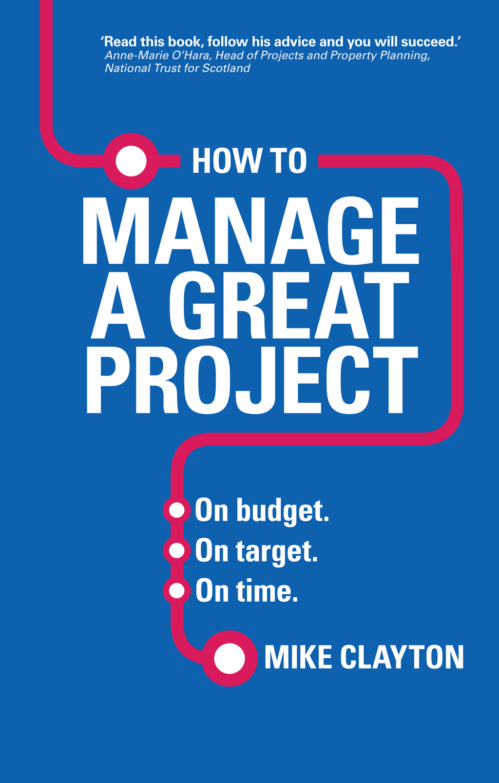 How to Manage a Great Project On budget. On target. On time.