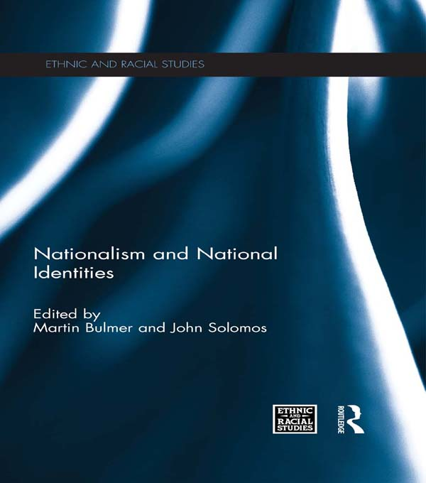 NATIONALISM NATIONAL IDENTITIES ERS