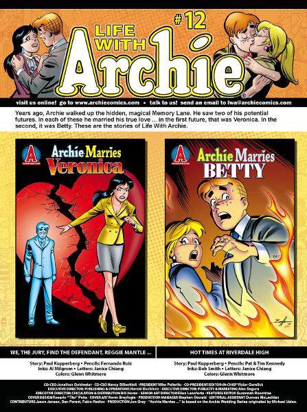 Life With Archie Magazine #12
