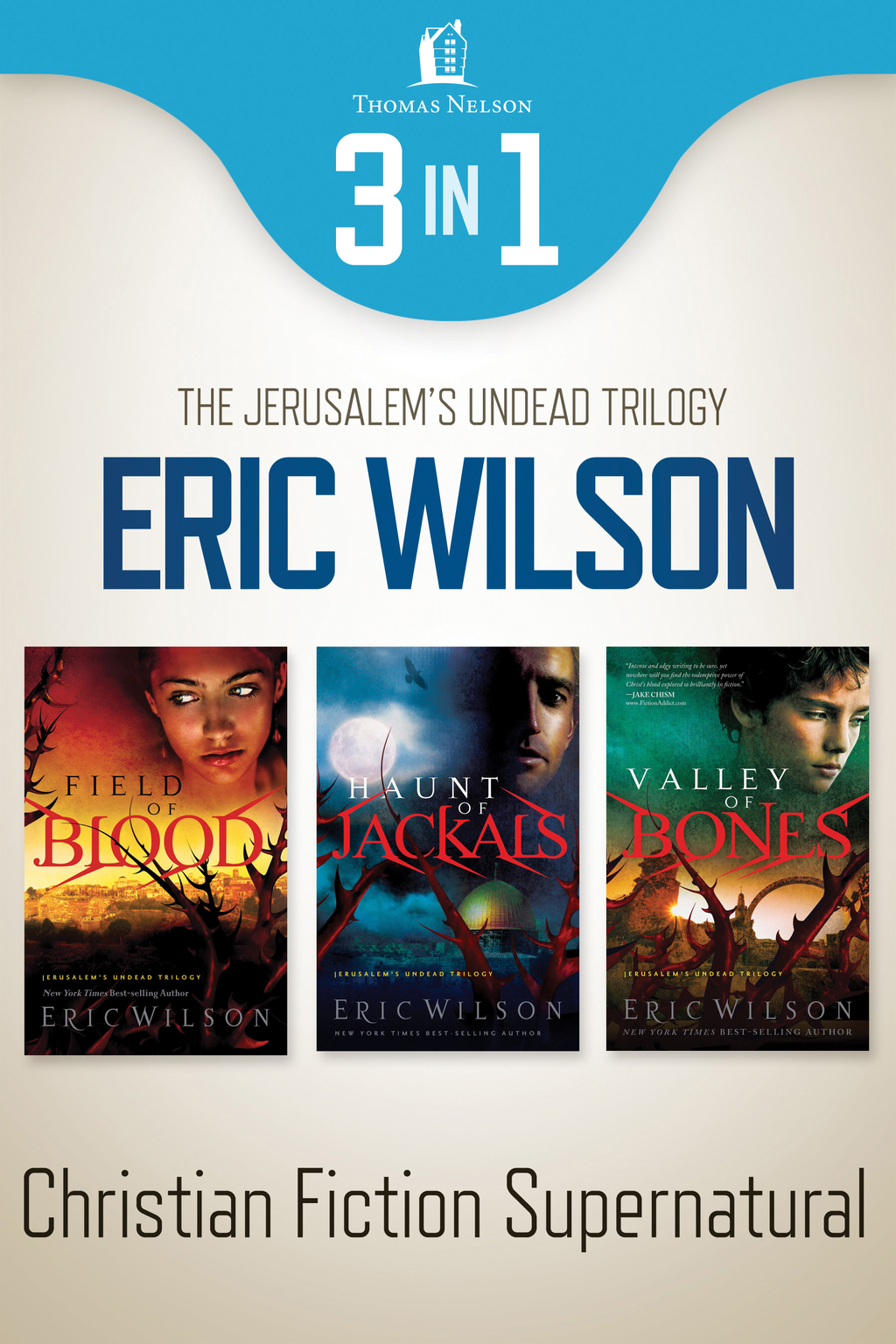 Jerusalem's Undead Supernatural 3-in-1 Bundle