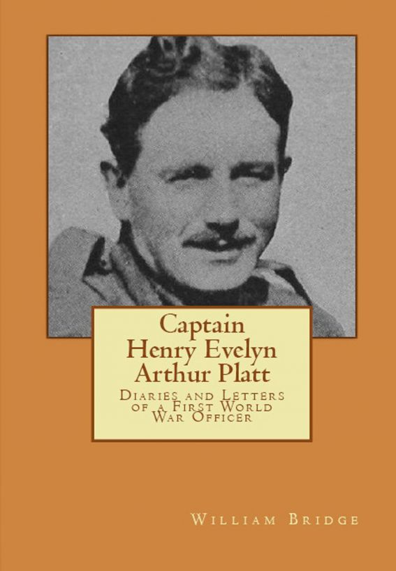 Captain Henry Evelyn Arthur Platt: Diaries and Letters of a First World War Officer in the 19th Hussars and 1st Coldstream Guards By: William Bridge