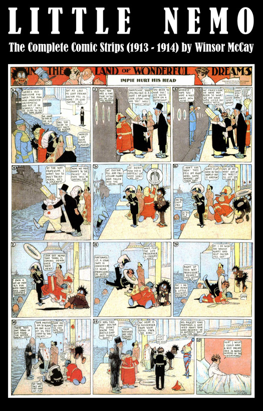 Little Nemo - The Complete Comic Strips (1913 - 1914) by Winsor McCay (Platinum Age Vintage Comics) By: Winsor Mccay