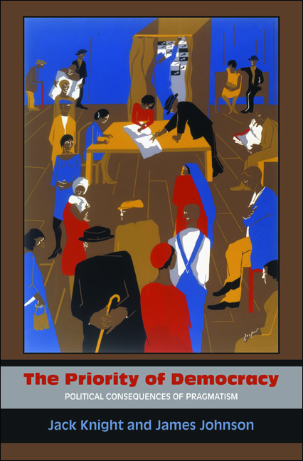 The Priority of Democracy