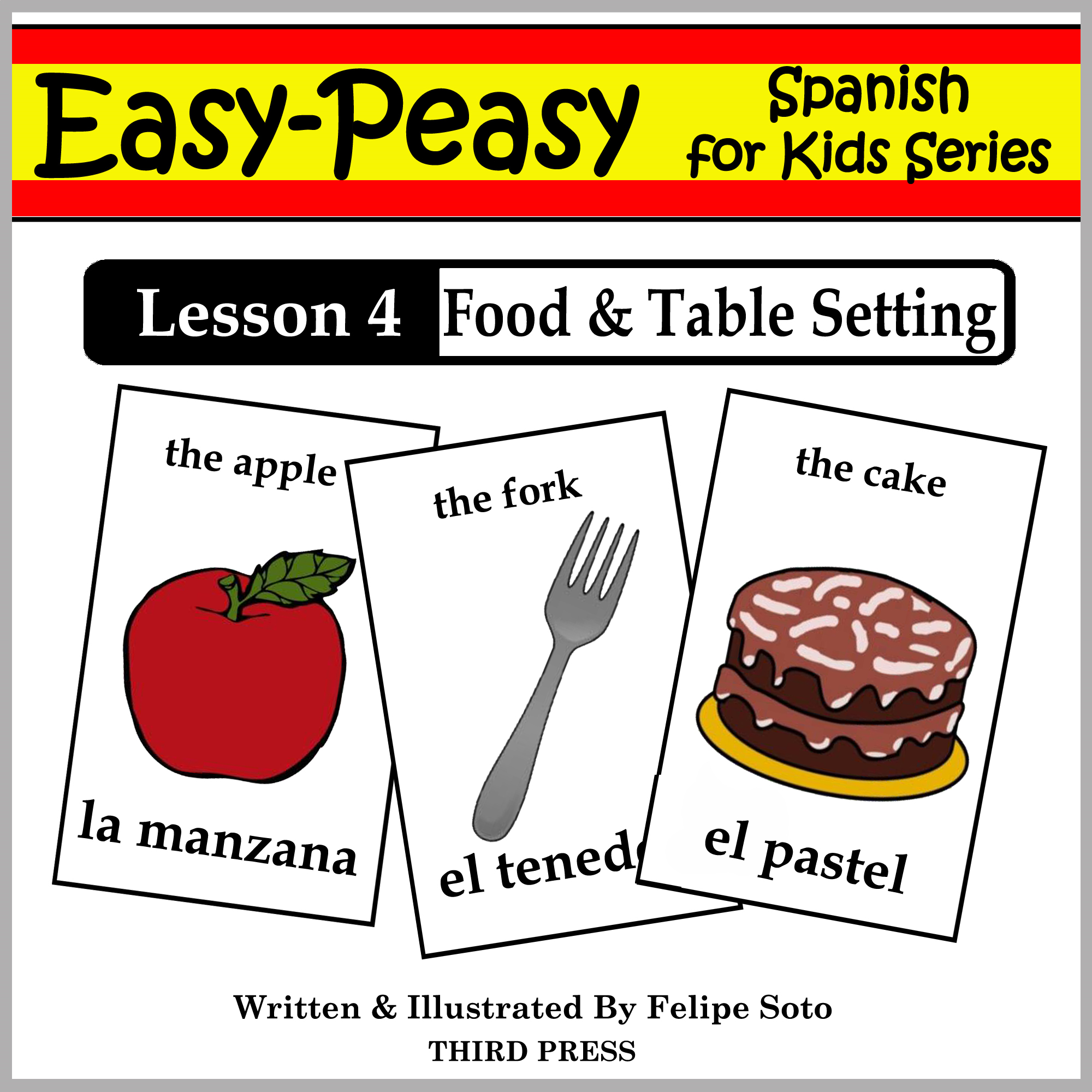 Spanish Lesson 4: Food & Table Setting