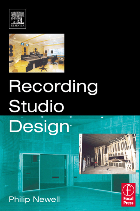 Recording Studio Design By: Philip Newell