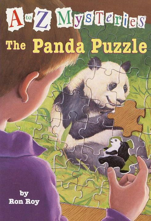 Cover Image: A to Z Mysteries: The Panda Puzzle