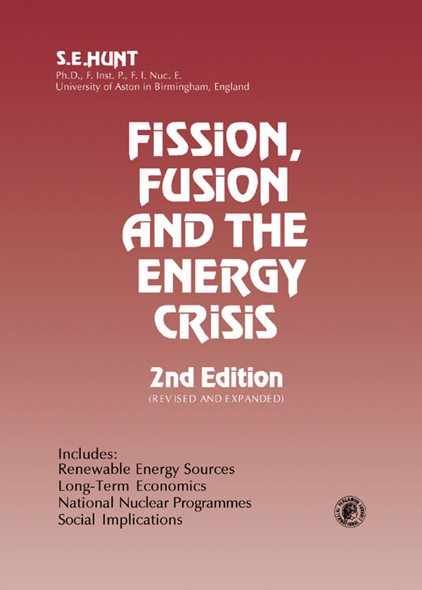 Fission,  Fusion and The Energy Crisis