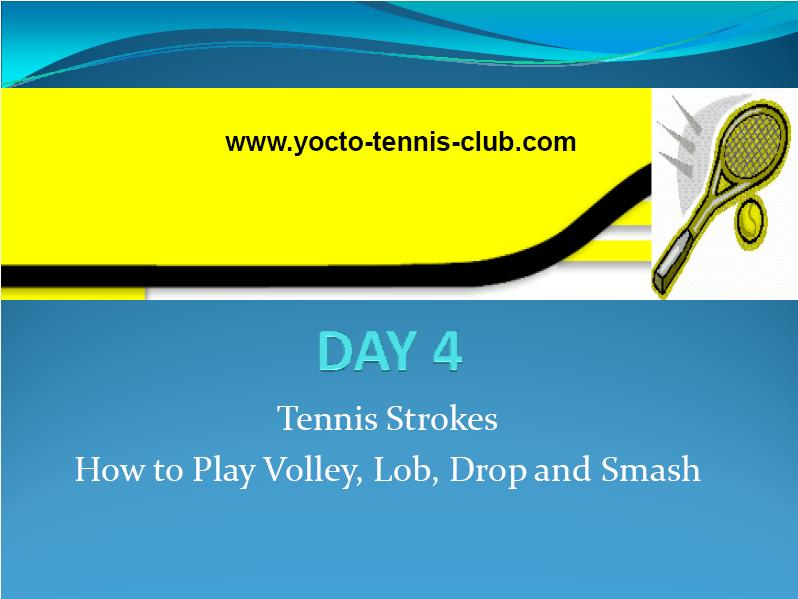 Master in 5 Days (Tennis Coaching Course) : Day 4