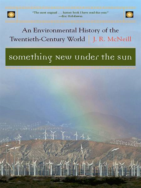 Something New Under the Sun: An Environmental History of the Twentieth-Century World (The Global Century Series) By: J. R. McNeill