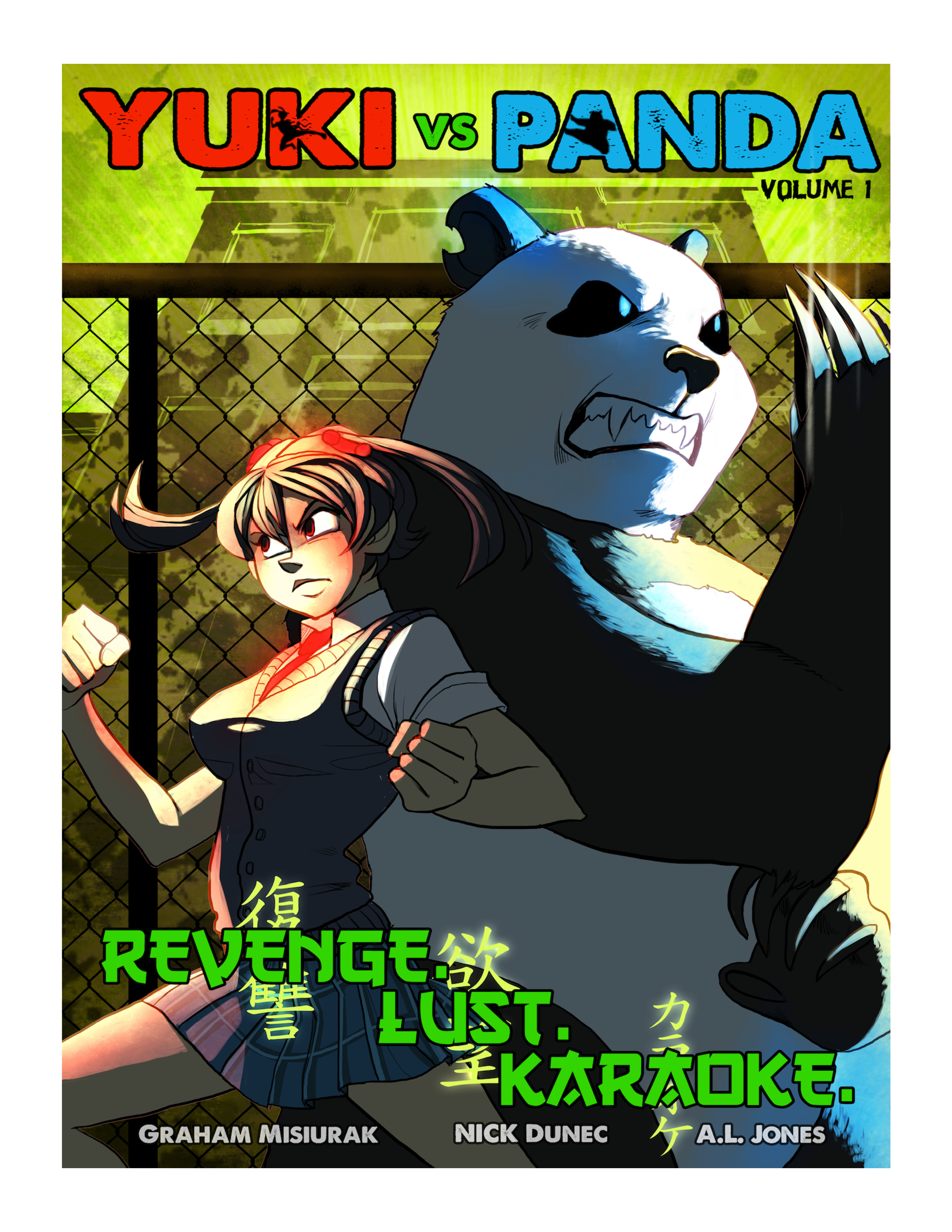 Yuki vs. Panda, Vol. 1
