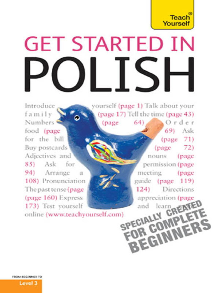 Get started in Polish: Teach Yourself
