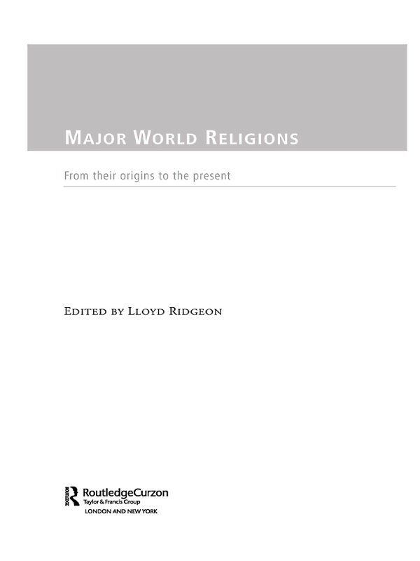 Major World Religions From Their Origins To The Present