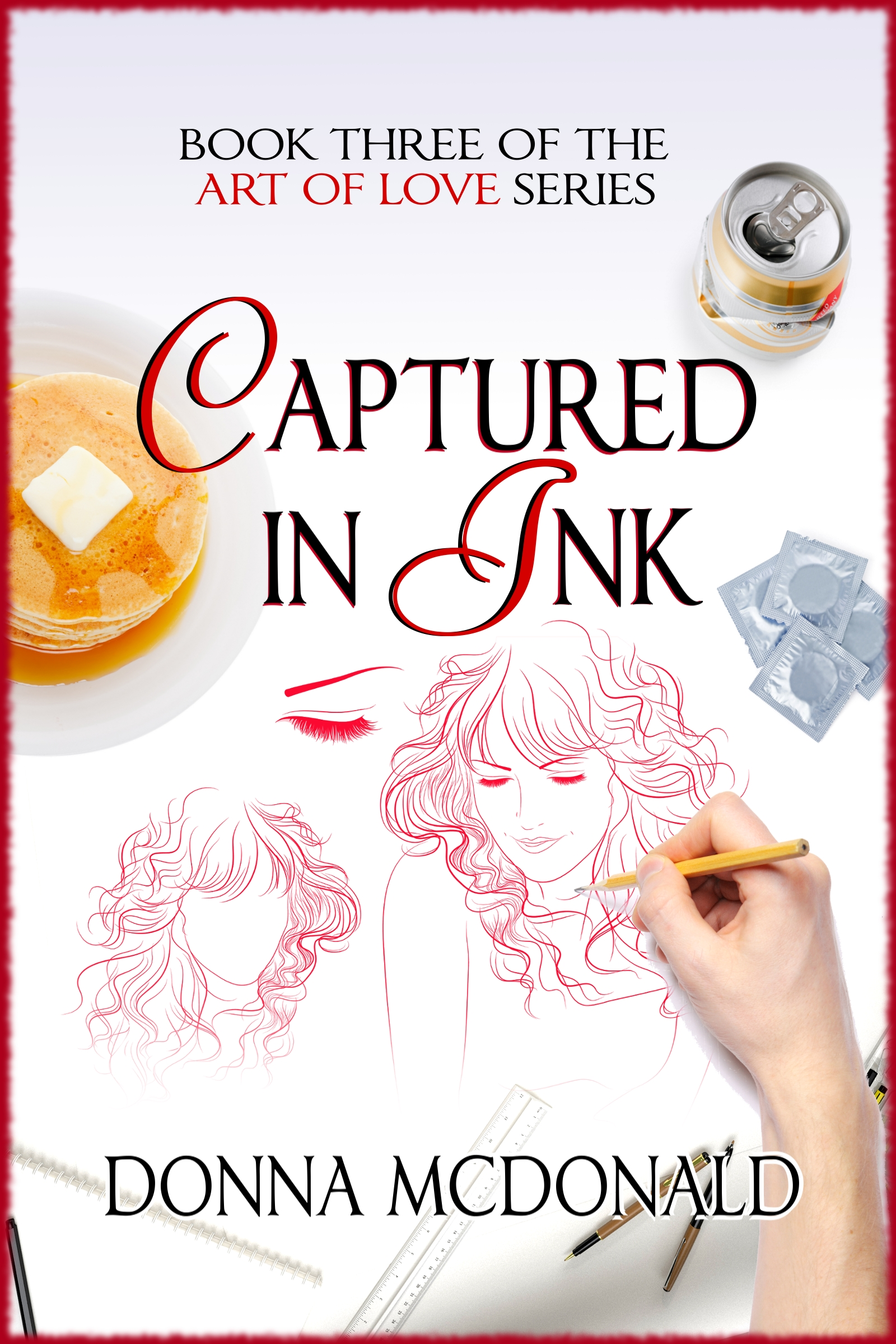 Captured In Ink (Contemporary Romance, Humor, Family)