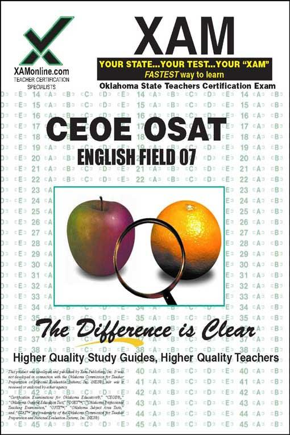 Sharon Wynne - CEOE OSAT English Field 07