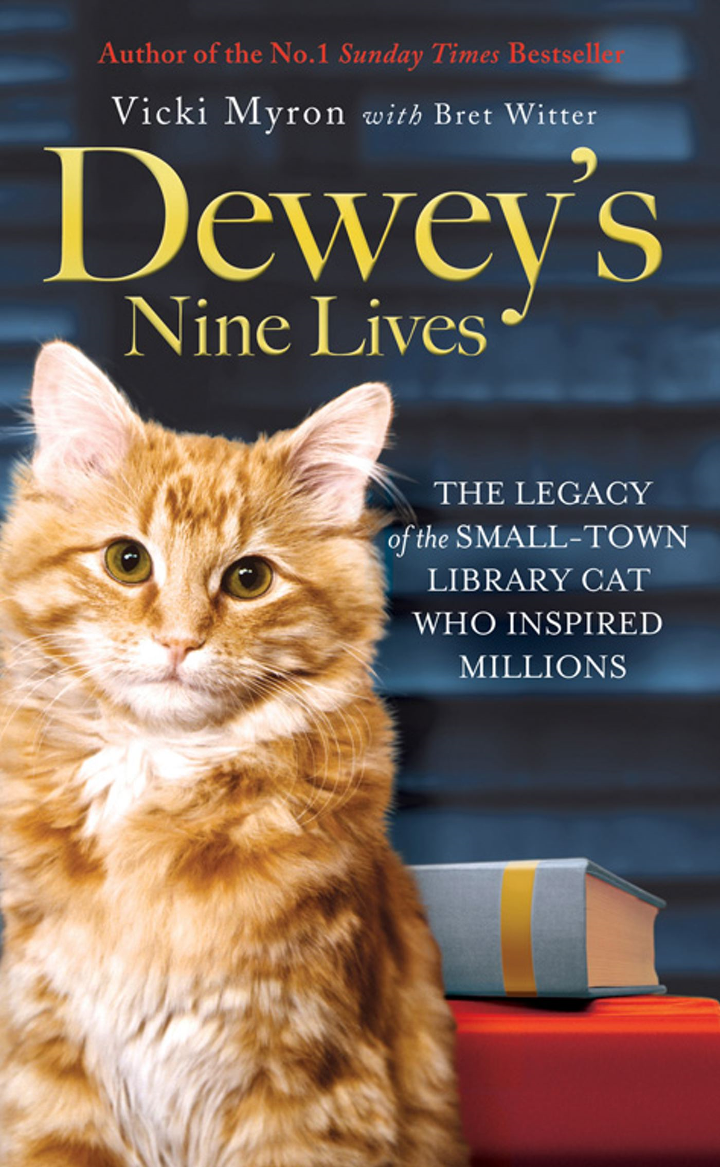 Dewey's Nine Lives The Legacy of the Small-Town Library Cat Who Inspired Millions