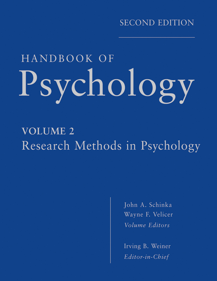 Handbook of Psychology, Research Methods in Psychology