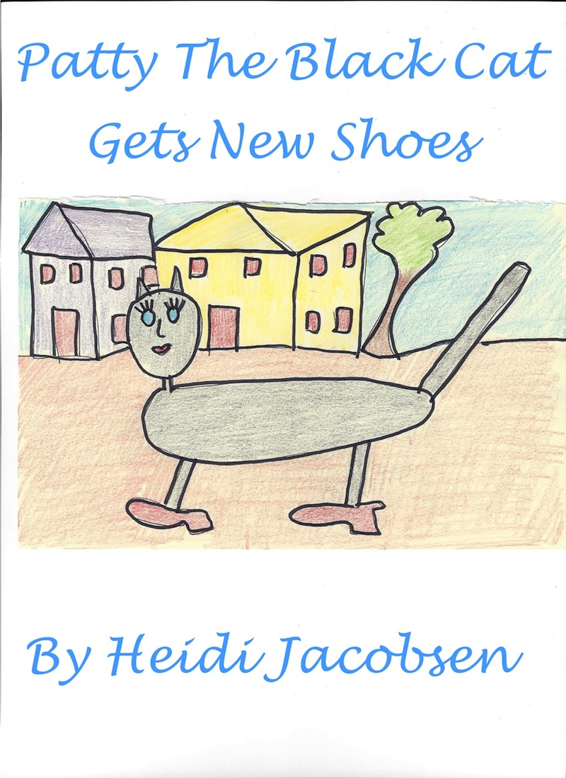 Patty The Black Cat Gets New Shoes By: heidi jacobsen