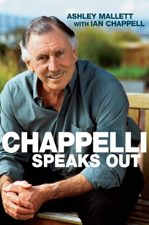 Chappelli Speaks Out By: Ashley Mallett