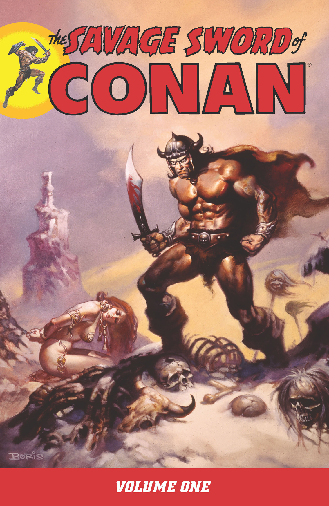 Savage Sword of Conan Vol. 1 By: Roy Thomas, Barry Windsor-Smith (Artist), John Buscema (Artist), Alfredo Alcala (Artist), Pablo Marcos (Artist)