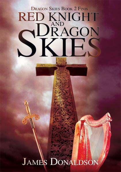 Red Knight and Dragon Skies