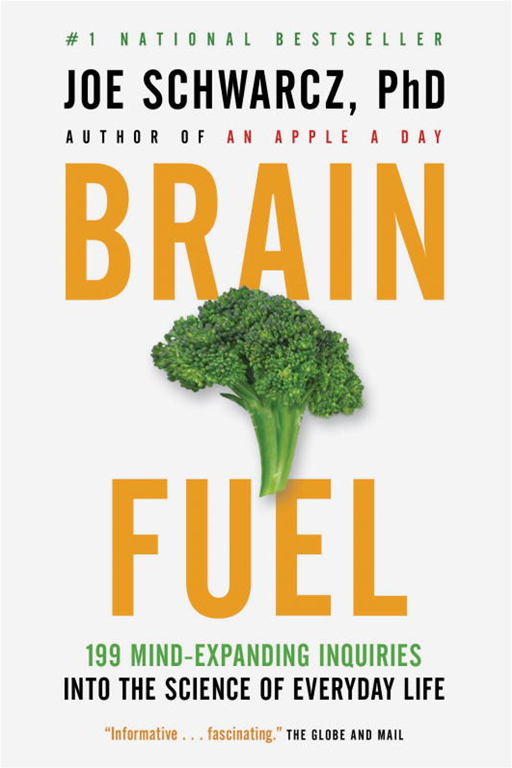 Brain Fuel By: Dr. Joe Schwarcz
