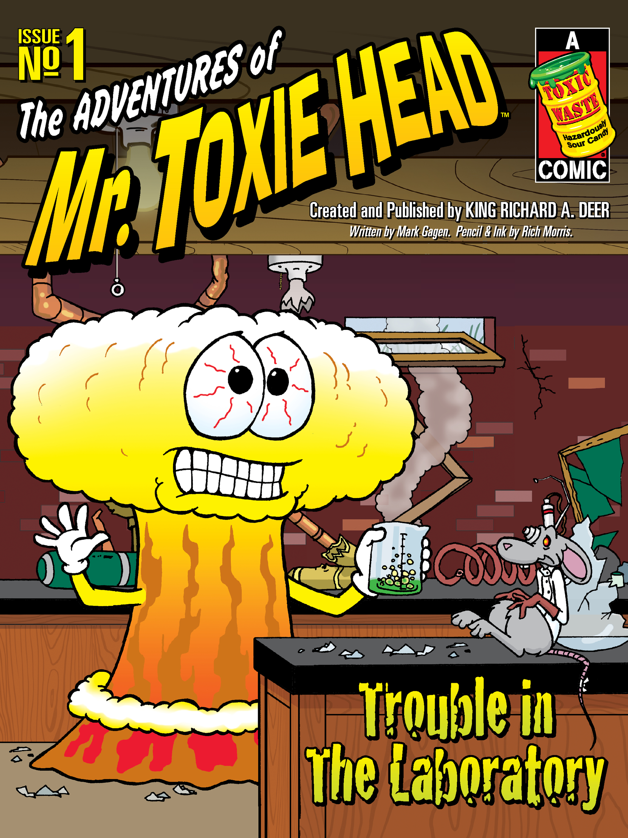 The Adventures of Mr. Toxie Head #1