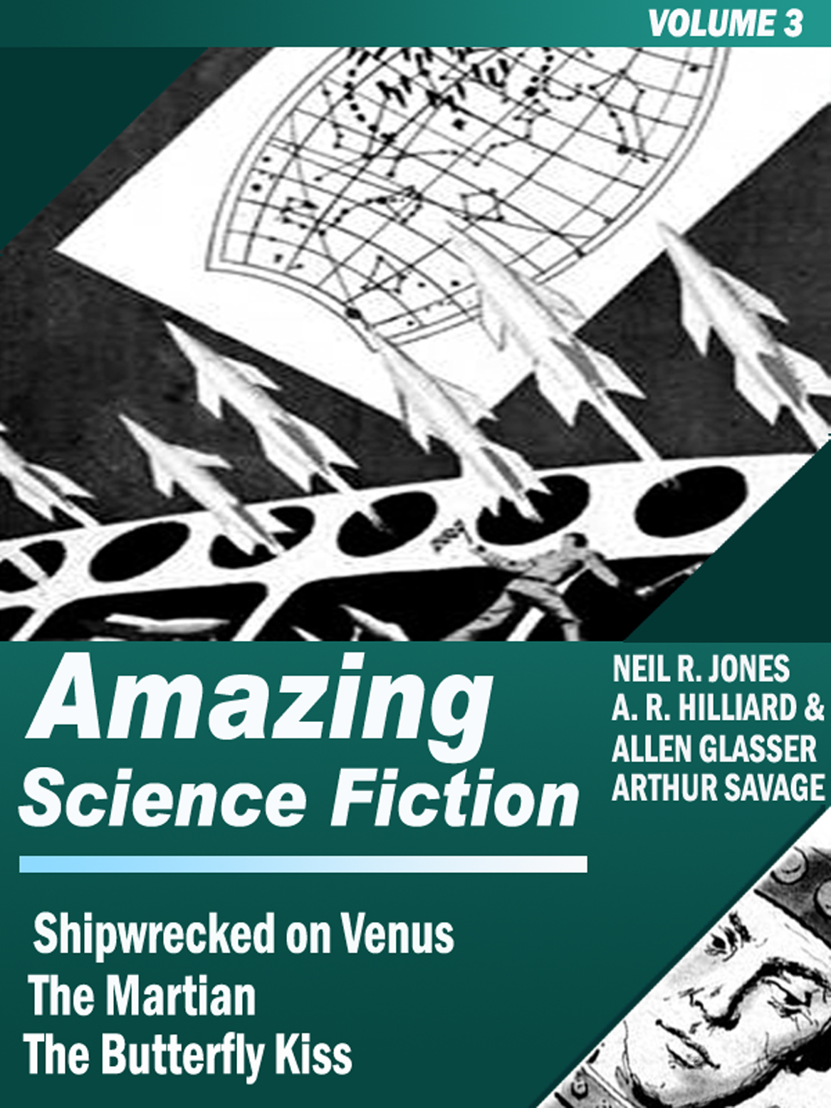 Amazing Science Fiction - Volume 3 (Shipwrecked on Venus, The Martian, The Butterfly Kiss)