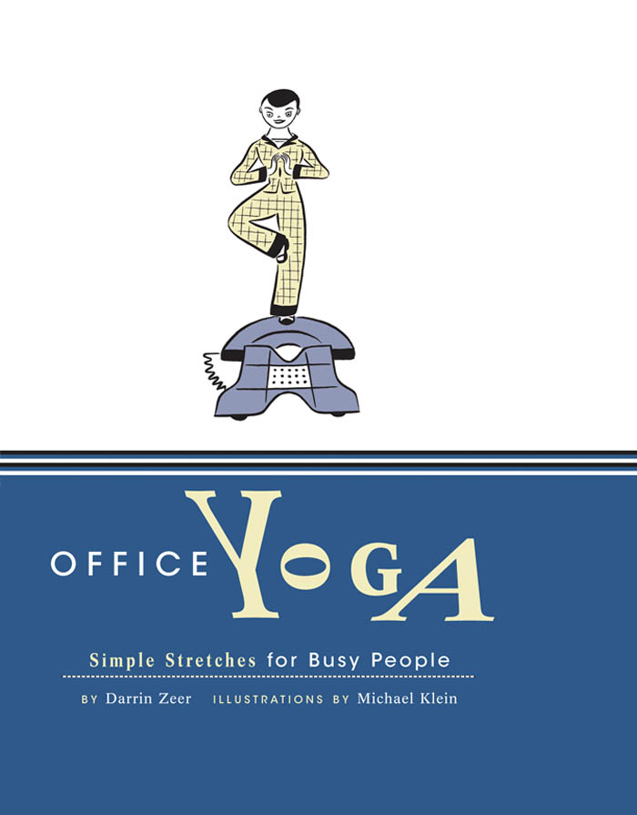 Office Yoga: Simple Stretches for Busy People