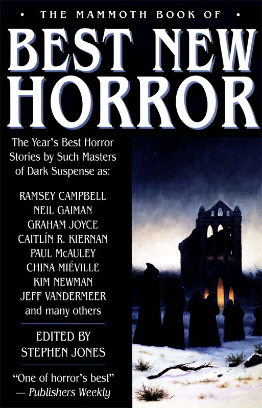 The Mammoth Book of Best New Horror 2003 By: Stephen Jones