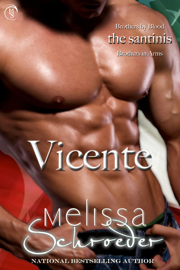 The Santinis: Vicente, Book 4