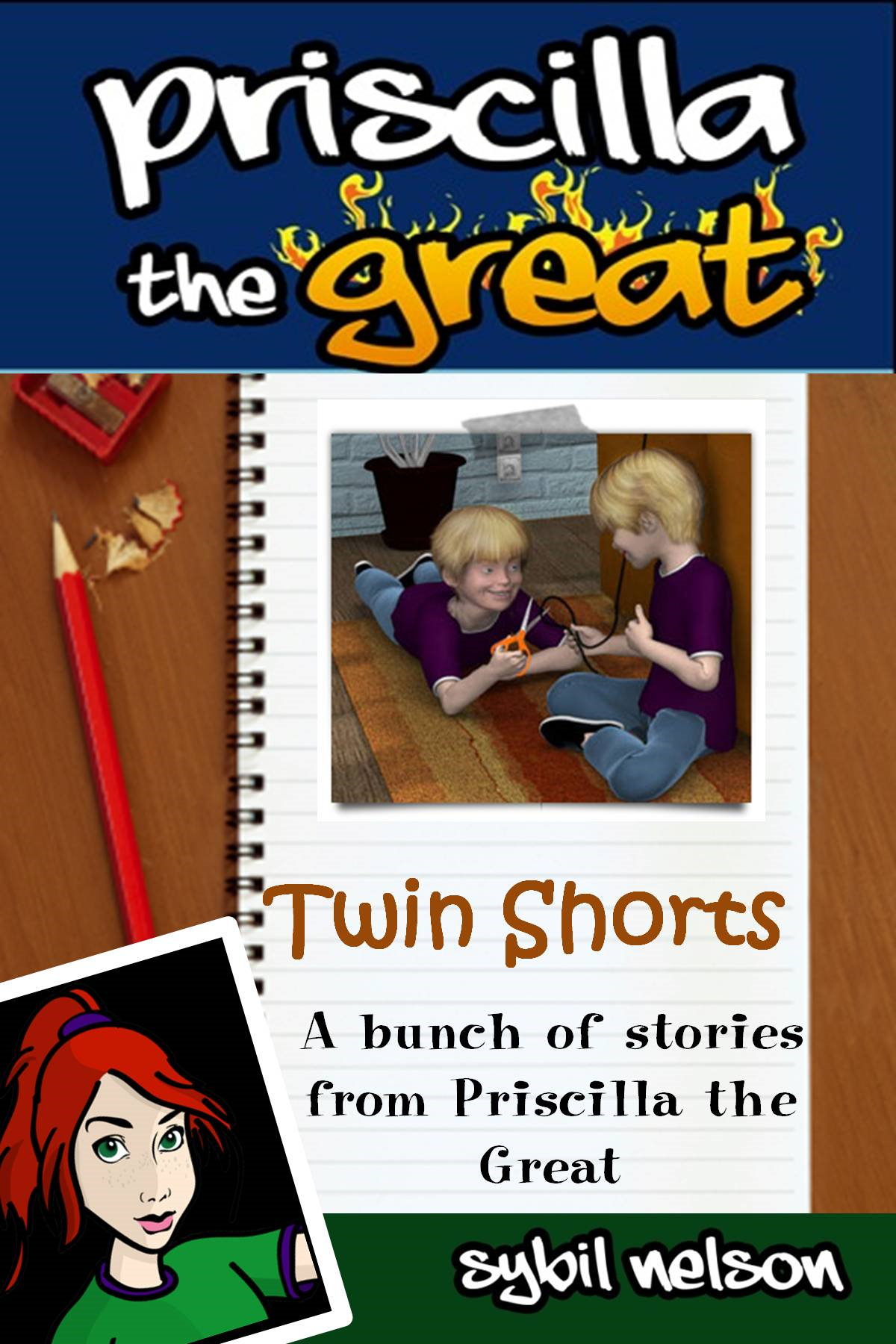 Priscilla the Great Presents Twin Shorts