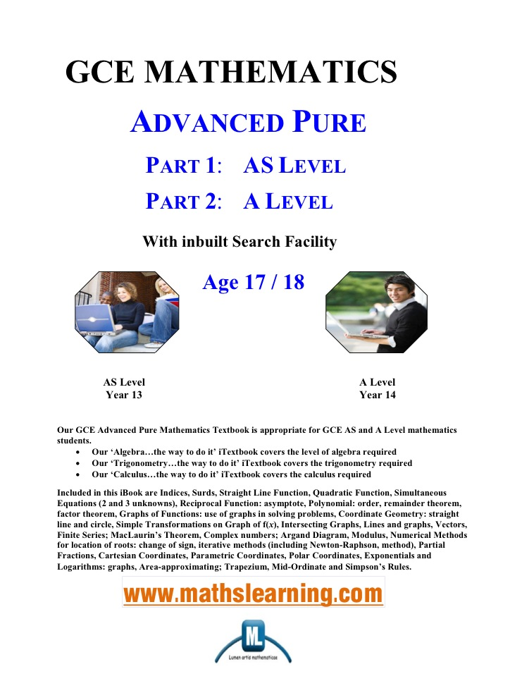 GCE Advanced Pure