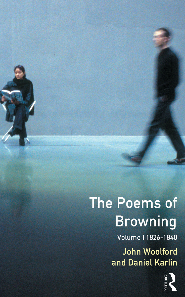 The Poems of Browning 1826-1840
