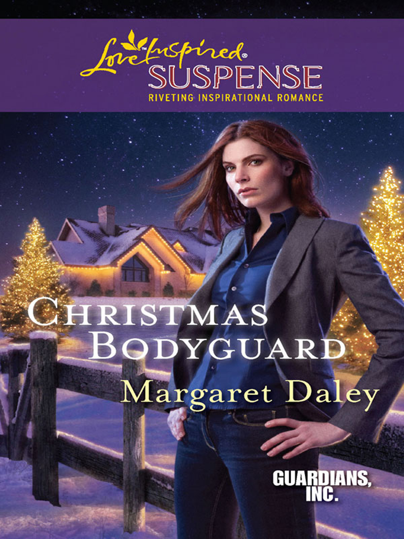 Christmas Bodyguard (Mills & Boon Love Inspired Suspense) (Guardians,  Inc. - Book 1)
