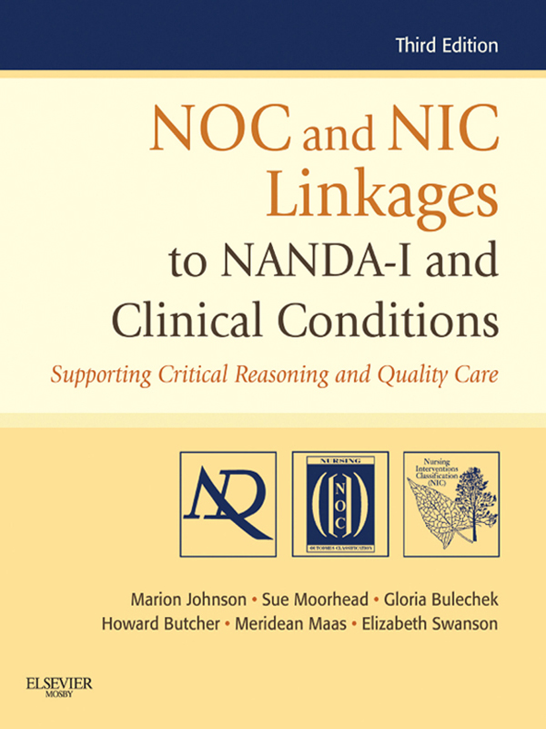 NOC and NIC Linkages to NANADA-I and Clinical Conditions