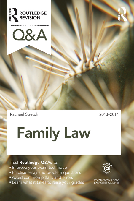 Q&A Family Law 2013-2014